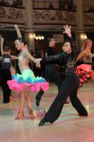 Michael Johnson & Sally Rose Beardall at Blackpool Dance Festival 2011