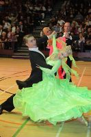 Stanislav Wakeham & Laura Nolan at International Championships 2009