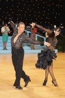 Anton Sboev & Patrizia Ranis at UK Open 2011