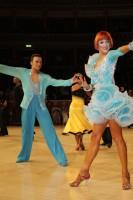 Anton Sboev & Patrizia Ranis at International Championships 2012
