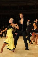 Jurij Batagelj & Jagoda Batagelj at International Championships 2012