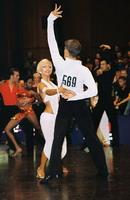 Jurij Batagelj & Jagoda Batagelj at 15th German Open 2001