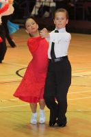 Lloyd Perry & Rebecca Scott at International Championships 2009