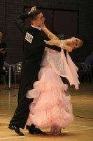 Alex Sindila & Katie Gleeson at International Championships 2008