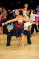 Andrew Cuerden & Hanna Haarala at UK Open 2008