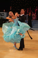 Anton Lebedev & Anna Borshch at UK Open 2012