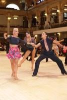 Michel Finkelchtein & Yuliya Ishchak at Blackpool Dance Festival 2018