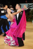 Victor Fung & Anastasia Muravyova at UK Open 2011