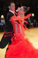 David Moretti & Francesca Sfascia at UK Open 2012