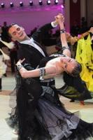David Moretti & Francesca Sfascia at Blackpool Dance Festival 2012