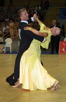 Andrzej Sadecki & Karina Nawrot at 19th Feinda - Italian Open 2002