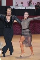 Evgeniy Barskiy & Valeriya Oleksyuk at Blackpool Dance Festival 2018