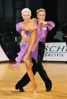 Peter Stokkebroe & Kristina Stokkebroe at World Amateur Latin Championships