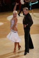 Peter Stokkebroe & Kristina Stokkebroe at International Championships 2008