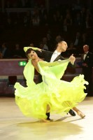 Iaroslav Bieliei & Liliia Gladiuk at International Championships
