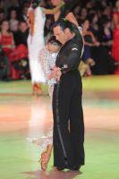 Andrius Kandelis & Elena Zverevshchikova at Blackpool Dance Festival 2011