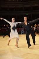 Andrius Kandelis & Elena Zverevshchikova at International Championships 2012