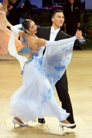 Victor Fung & Anna Mikhed at UK Open 2007