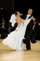 Victor Fung & Anna Mikhed at UK Open 2008