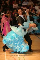Tomasz Papkala & Frantsiska Yordanova at International Championships 2008