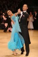 Tomasz Papkala & Frantsiska Yordanova at UK Open 2009
