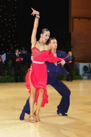 Kyle Taylor & Polina Shklyaeva at UK Open 2012