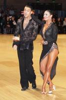 Manuel Favilla & Victoria Burke at UK Open 2012