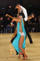 Anton Karpov & Ekaterina Lapaeva at UK Open 2012