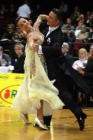 Benedetto Ferruggia & Claudia Köhler at Austrian Open Championships 2004