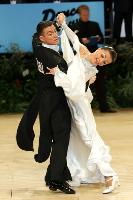 Benedetto Ferruggia & Claudia Köhler at UK Open 2006