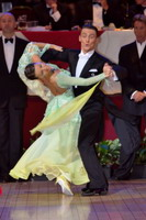 Benedetto Ferruggia & Claudia Köhler at The International Championships