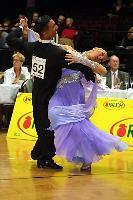 Andrea Ghigiarelli & Sara Andracchio at Austrian Open Championships 2004