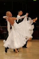 Andrea Ghigiarelli & Sara Andracchio at International Championships 2008