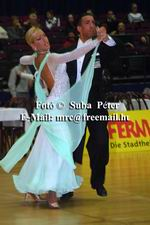 Andrea Ghigiarelli & Sara Andracchio at Austrian Open Championships 2003