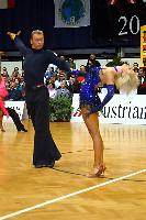 Jesper Birkehoj & Anna Anastasiya Kravchenko at Austrian Open Championships 2004