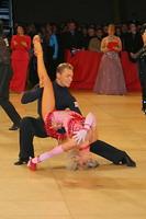 Jesper Birkehoj & Anna Anastasiya Kravchenko at UK Open 2005