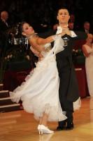 Angelo Madonia & Antonella Decarolis at International Championships 2012