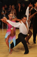 Ilia Russo & Oxana Lebedew at UK Open 2012