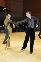 Stefano Moriondo & Darya Byelikova at UK Open 2012