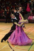 Mirko Francesconi & Milena Cervelli at International Championships 2009