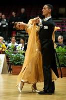 Simone Segatori & Annette Sudol at Austrian Open Championships 2005