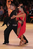 Rafael Trujillo Guitart & Natalia Garate at Blackpool Dance Festival 2018