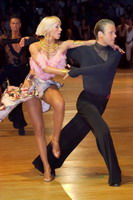 Cedric Meyer & Angelique Meyer at Dutch Open 2006
