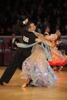 Daniele Gallaro & Kimberly Taylor at International Championships 2009