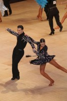 Petar Daskalov & Zia James at Blackpool Dance Festival 2018