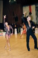 Eugene Katsevman & Maria Manusova at Savaria 2000
