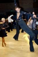 Alex Ivanets & Lisa Bellinger-Ivanets at UK Open 2008