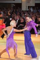 Alex Ivanets & Lisa Bellinger-Ivanets at Blackpool Dance Festival 2010