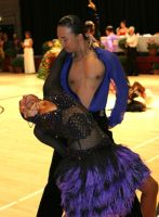 Alex Wei Wang & Roxie Jin Chen at International Championships 2008