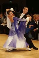 Domen Krapez & Natasha Karabey at UK Open 2019